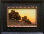 Oaks in the Sunset, 7x11, $1300.00